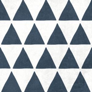 Szablon malarski Fiord- czarno-biały