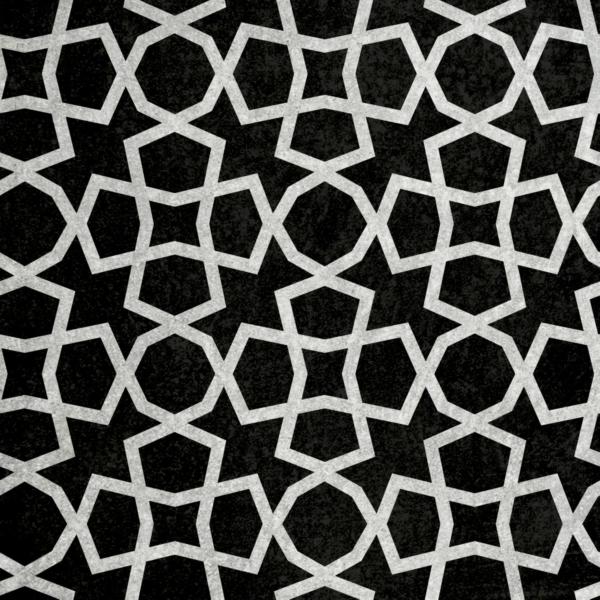 Medina szablon malarski - czarno biały obrazek