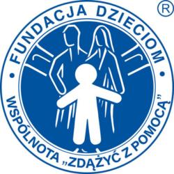Logo Fundacja Dzieciom Zdążyć z pomocą. Wektorowe, AI, EPS, SVG, PDF