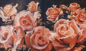 Róże, dyptyk