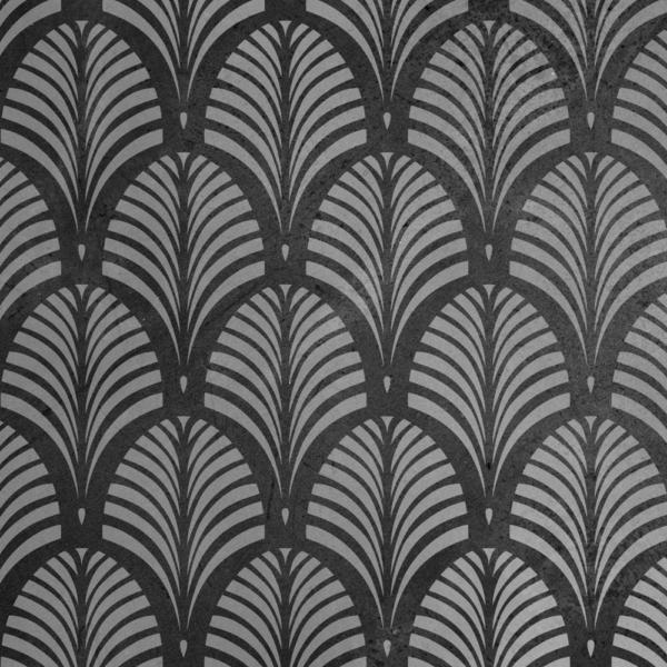 Szablon malarski Tamara Palm na ciemnej ścianie
