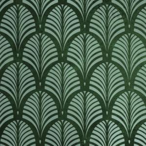 Szablon malarski Tamara Palm na zielonym tle