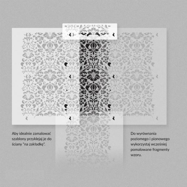 36 Renesso szablon malarski wielokrotnego uzytku overlapping 1 ► szablon