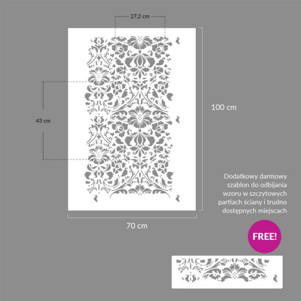 36 Renesso szablon malarski wielokrotnego uzytku rozmiary rozmiary 1 ► szablon